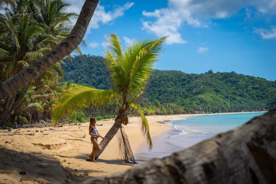 Duli beach El Nido, truly a piece of paradise.