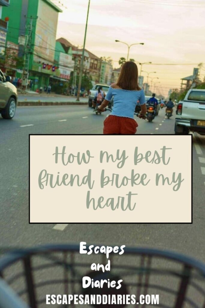 How my Bff Broke my Heart