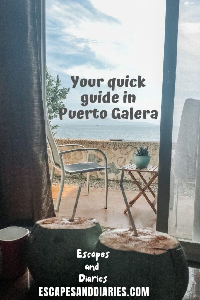 Puerto Galera Pinterest Pin