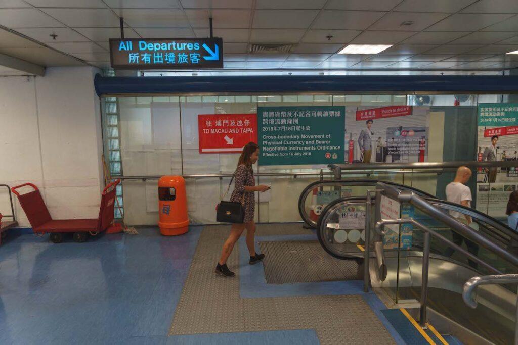 Departure * 6 hours to Macau guide